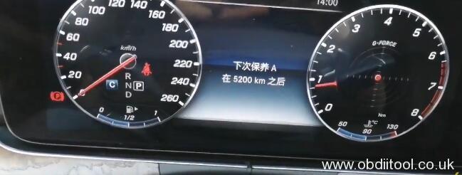 vident-iauto-702pro-benz-e200l-2018-oil-reset-3