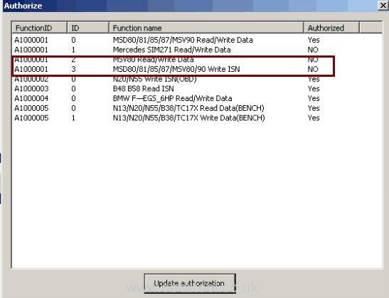 Bmw At200 Read Write Msv80 Isn Clone Module 3