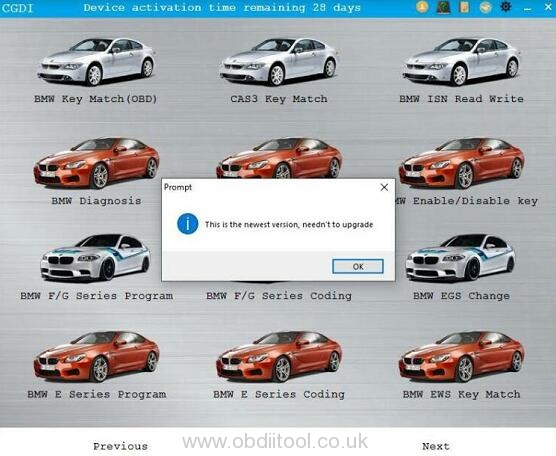 Cgdi Bmw v3.1.0 Software Signature Error 3
