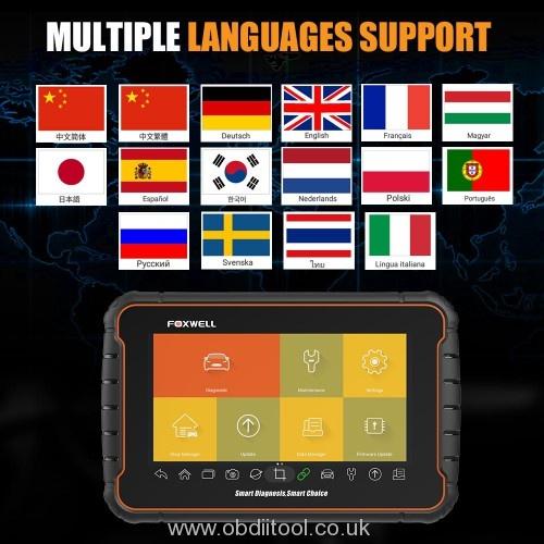 Foxwell Gt60 Plus Language