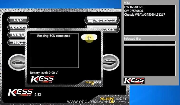 Kess V2 Ksuite V2.53 Read Bmw 328i6at 13