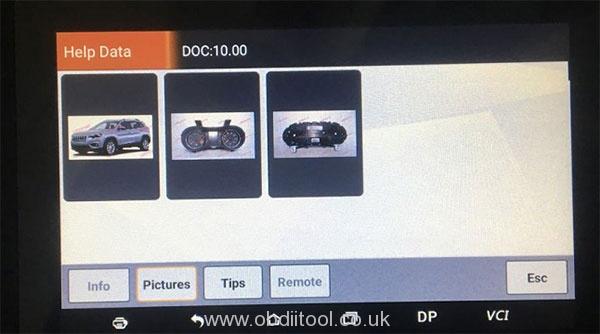 Obdstar Odo Master Benz B180 W246 3
