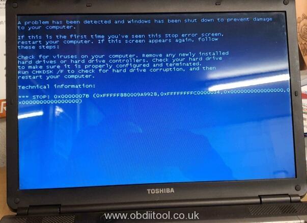 Gm Mdi Gds Tech2 Win Hdd Blue Screen Solution
