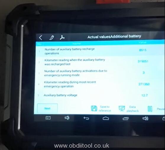 Xtool Ez400 Pro Review Benz W211 E220 Cdi 10