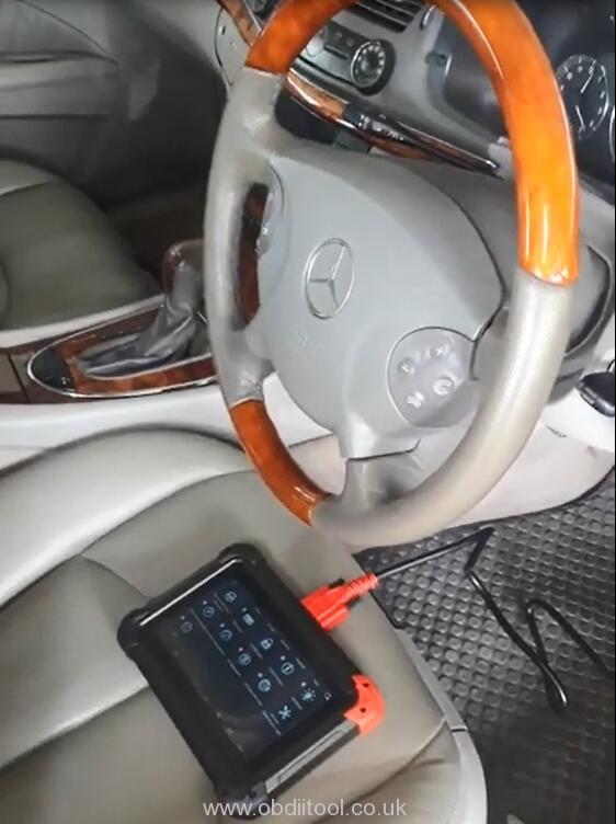 Xtool Ez400 Pro Review Benz W211 E220 Cdi 2