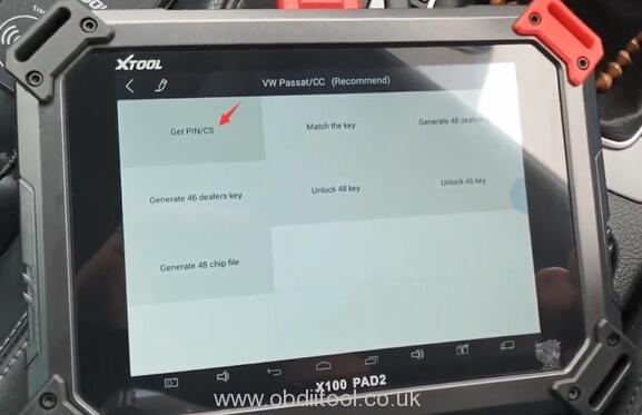 Xtool X100 Pad2 Pro Program Vw Cc 2014 14