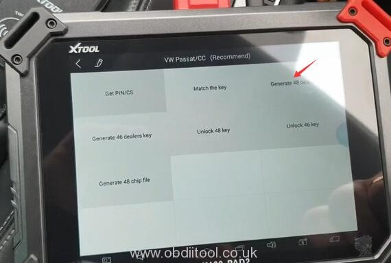 Xtool X100 Pad2 Pro Program Vw Cc 2014 15