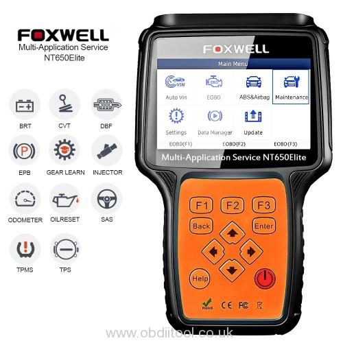 Foxwell Nt650 Elite