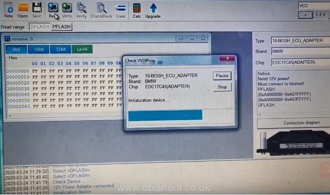 Vvdi Prog V4.9.2 Read Bmw Edc17c45 8