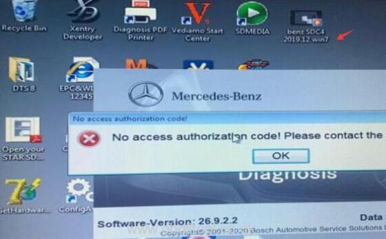 Mb Sd C4 Software Activate Error Solution 7