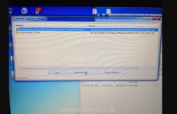 Iprog+ Pro Driver Install Error Solution 1