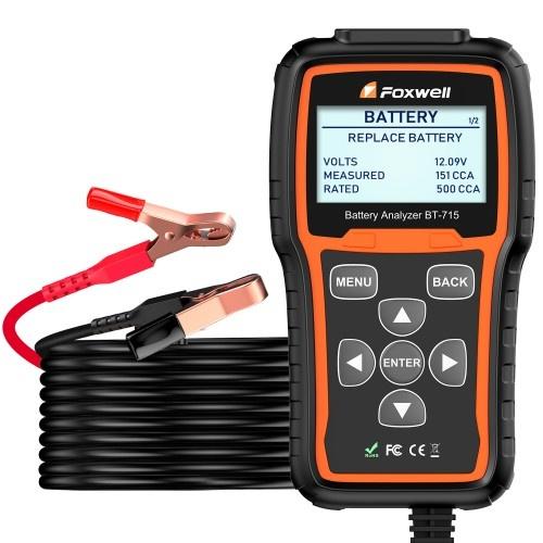 Foxwell Bt715 Battery Tester