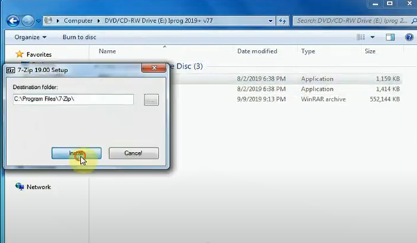 Iprog Pro V84 Device Driver Not Found Solution 4