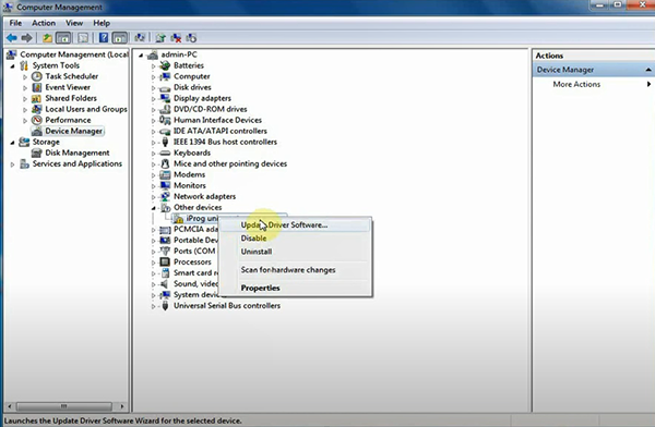 Iprog Pro V84 Device Driver Not Found Solution 6