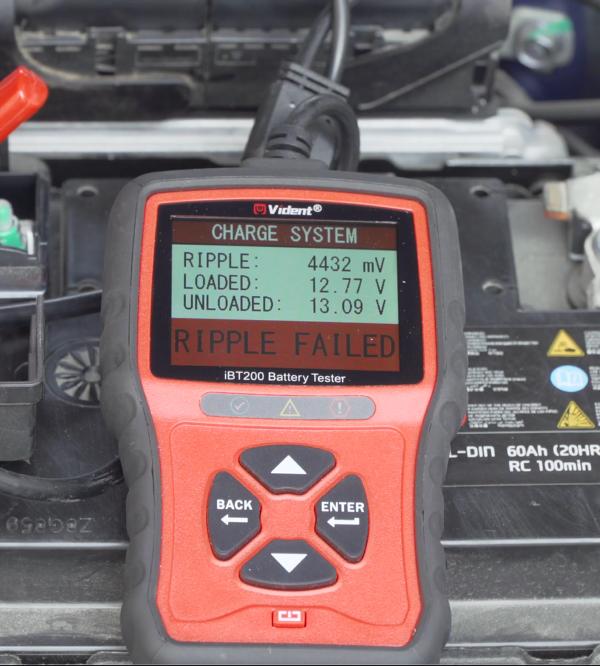 Vident Ibt200 Battery Tester Tutorial 9