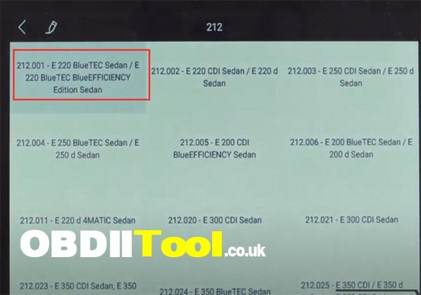 Xtool X100 Pad3 Diagnose 2020 Ben W212 6