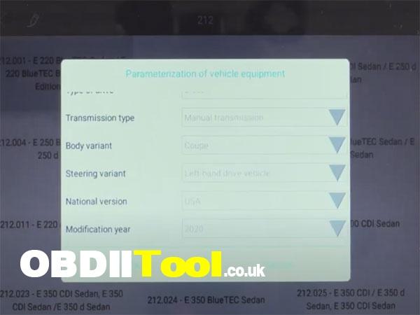 Xtool X100 Pad3 Diagnose 2020 Ben W212 8