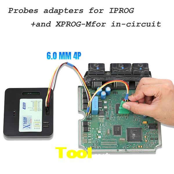 5 In 1 Probes Adapters Iprog+ Xprog 10