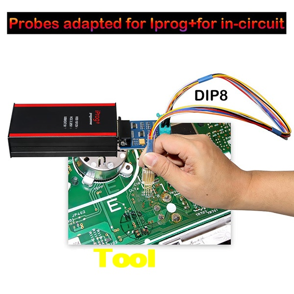 5 In 1 Probes Adapters Iprog+ Xprog 2