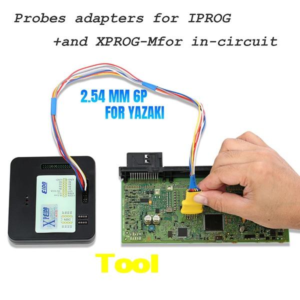 5 In 1 Probes Adapters Iprog+ Xprog 8