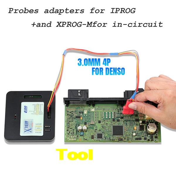 5 In 1 Probes Adapters Iprog+ Xprog 9