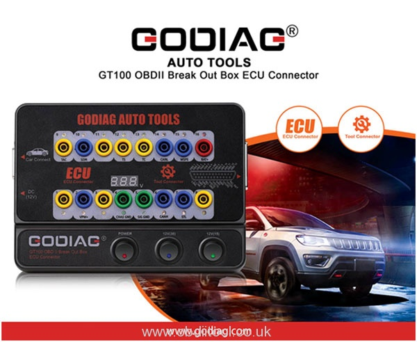 Godiag Gt100 Obdii Protocol Detector User Manual 1