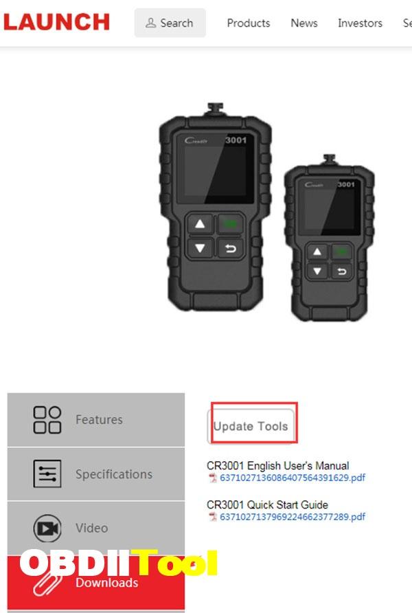 Launch Creader 3001 Update Review 3