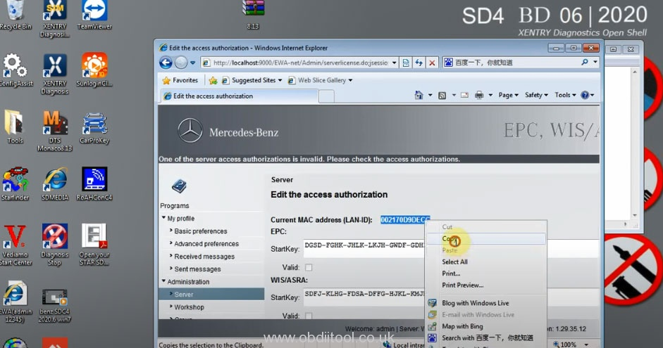 V2020.06 Mb Sd C4 Xentry Software Activate 7