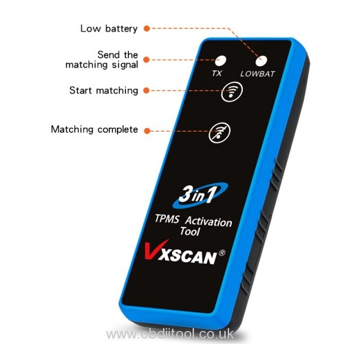 Vxscan 3 In 1 Tpms Activation Tool User Manual 3