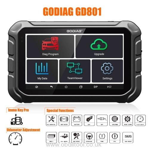 2021 Godiag Gd801 Ford Immo Car List 1