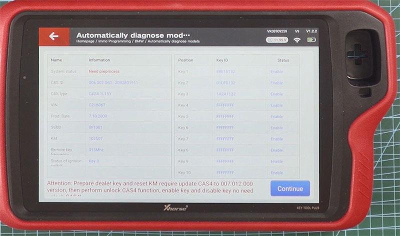 Key Tool Plus Godiag Gt100 Add Cas4 Key 11