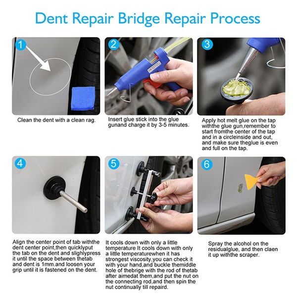 Oem Pdr Dent Puller Tools Kits Guide 8