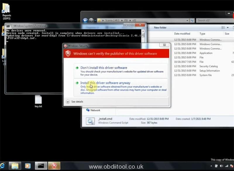 Scania Sdp3 2.44.1 Internal Software Fault Error Solution 6