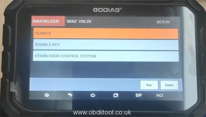 Godiag Gd801 Benz Immo Car List 2