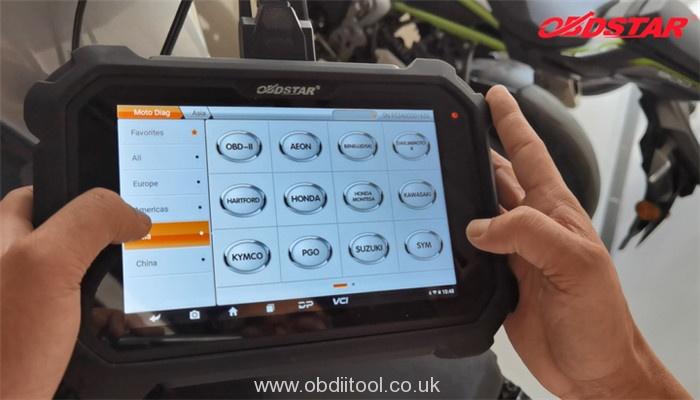 Obdstar Ms80 Honda Diagnosis Guide 2