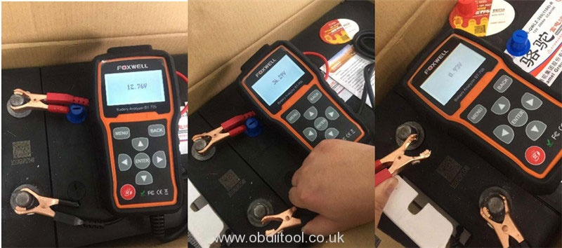 Foxwell Bt715 Read Different Values Same Battery Solution 2