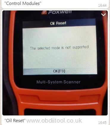 Foxwell Nt530 Mercedes Sprinter White Screen Solution 2