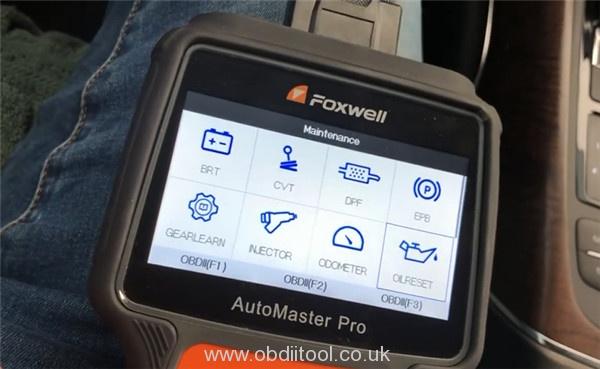 Foxwell Nt680 Pro Reset Inspection Light Audi A6 4