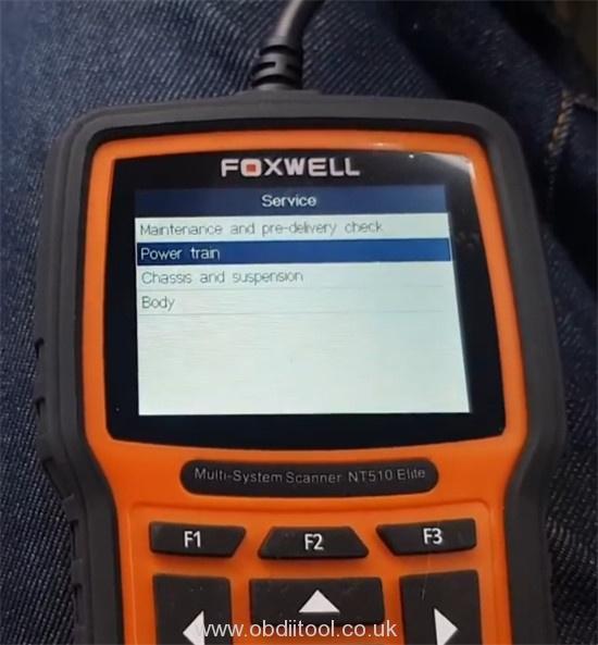 Foxwell Nt530 2008 Bmw 335i Injector Code 6