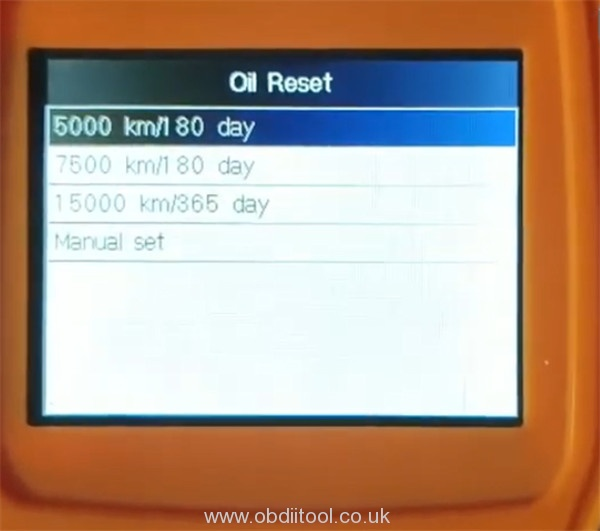 Foxwell Nt530 2013 Audi S8 Oil Reset 12