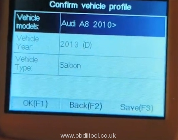 Foxwell Nt530 2013 Audi S8 Oil Reset 7