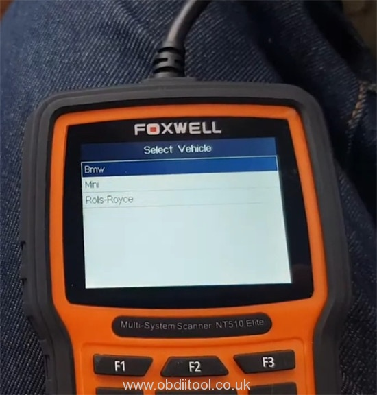 Foxwell Nt530 Fix Bmw 4a63 Fault Dde Ews Tampering 3