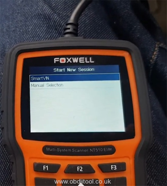 Foxwell Nt530 Fix Bmw 4a63 Fault Dde Ews Tampering 4