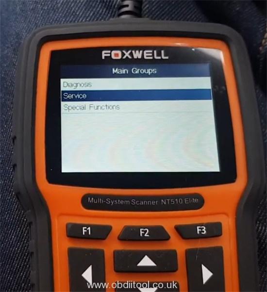 Foxwell Nt530 Fix Bmw 4a63 Fault Dde Ews Tampering 8