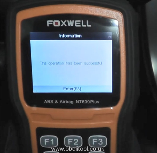 Foxwell Nt530 Nt650 Elite Turn Off Honda Vsa Light 11