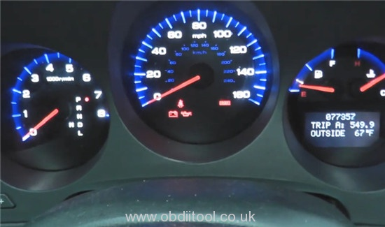 Foxwell Nt530 Nt650 Elite Turn Off Honda Vsa Light 13
