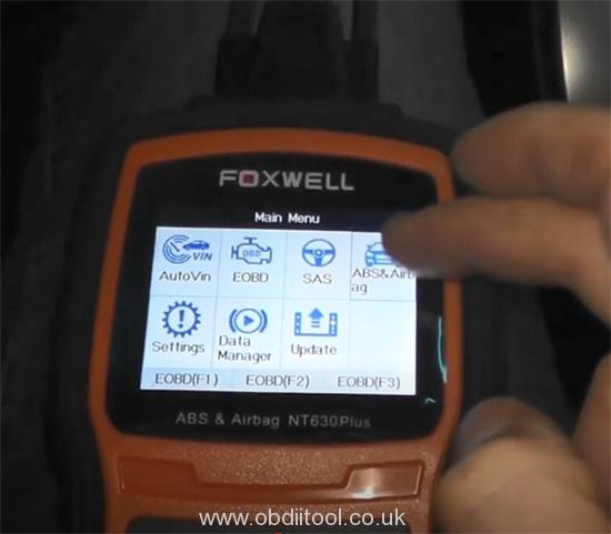 Foxwell Nt530 Nt650 Elite Turn Off Honda Vsa Light 3