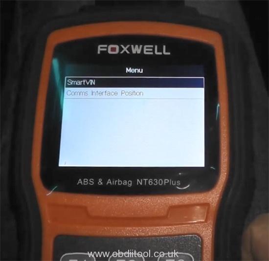 Foxwell Nt530 Nt650 Elite Turn Off Honda Vsa Light 5