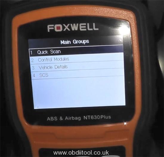 Foxwell Nt530 Nt650 Elite Turn Off Honda Vsa Light 6