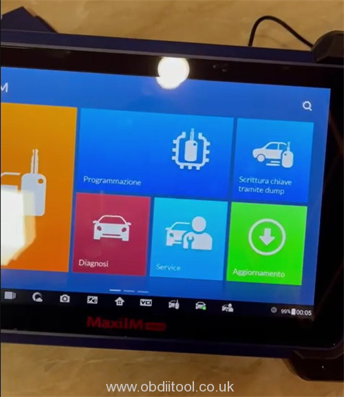 Autel Im608 Touch Screen Replace2
